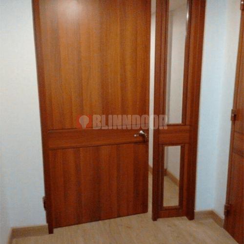 puertas-color-cafe-con-vidrios-blinndoor-blindaje-de-puerta-precios